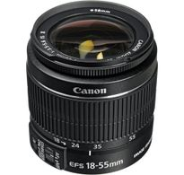 Canon Zoom Lens EF-S 18-55MM 3.5-5.6 IS II WITHOUT BOX