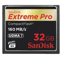 Sandisk Extreme Pro CF 32GB 160mbps