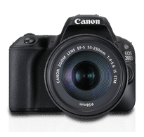 Canon EOS 200D Kit (EF-S18-55 IS STM & EF-S55-250 IS STM)