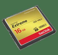 Sandisk Extreme CF 16GB 120mbps