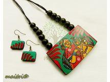 Terracotta Jewelry - Terracotta Set TMD201k