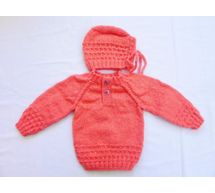 Handmade Baby Woolen Sweater4 - 10 Months - Baby Set BS11