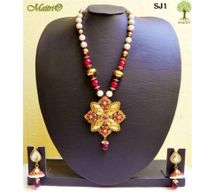 Stone Jewelry  - Stone Necklace Set - SJ1