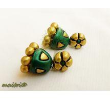Terracotta Jewelry - Terracotta Earring TEBJ308f