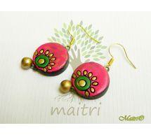 Terracotta Jewelry - Terracotta Earring TEC104a
