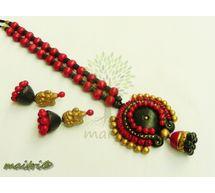 Terracotta Jewelry - Terracotta Earring TSB438a