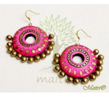 Terracotta Earring - Exclusive TEC433