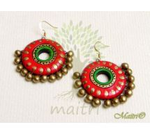 Terracotta Earring - Exclusive TEC435