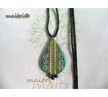 00Terracotta Jewelry-Terracotta Pendent TP-B104q