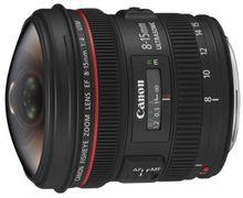 Canon Fisheye Zoom Lens EF8-15MM F4 L USM