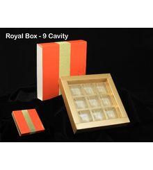 Royal Chocolate Box ( 9 cavity )