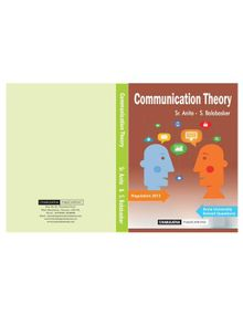 Communication Theory | Sr.Anitaa