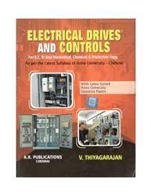 Electrical Drives And Control   V.Thiyagarajan