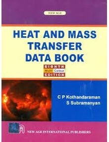 Heat and Mass Transfer Data Book | S. Subramanyan, C.P. Kothandaraman