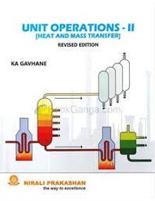 Unit Operations II (Heat and Mass Transfer) | K.A.Gavahne
