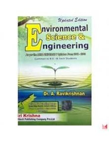 Environmental Science and Engineering | A. Ravikrishnan
