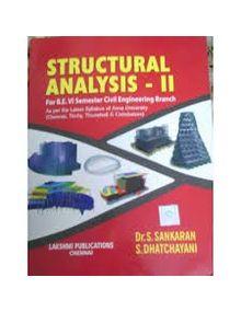 Structural Analysis 2 | Sankaran, Dhatchayani
