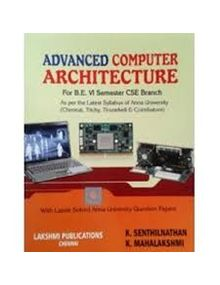 Advanced Computer Architecture | Senthilnathan, Mahalakshmi
