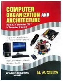 Computer Organization and Architecture | Auxiliya