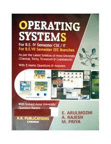 Operating Systems   K.Arulmozhi