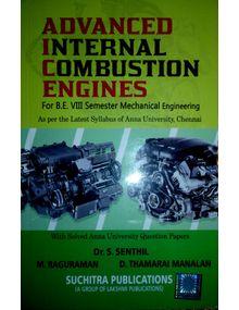 Advanced I C Engines | Dr. S Senthil, M. Raguraman, D Tamarai Manalan