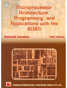 Microprocessor Architecture Programming And Applications With The 8085| Ramesh Gaonkar