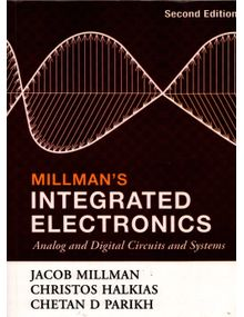 Millman's Integrated Electronics | Jacob Millman, Christos Halkias, Chetan D Parikh