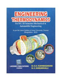 Engineering Thermodynamics   Dr.G.K.Vijayaraghavan