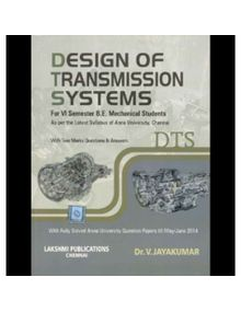 Design Of Transmission Systems | Dr.V.Jayakumar