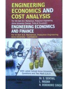 Engineering Economics and Cost Analysis   S.Senthil, Madan
