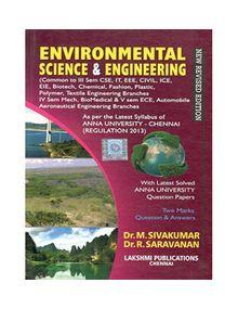 Environmental Science And Engineering | Dr.M.Sivakumar , Dr.R.Saravanan