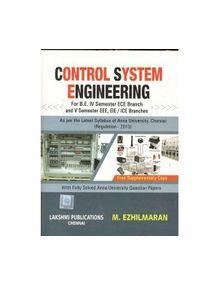 Control System Engineering | M.Ezhilmaran