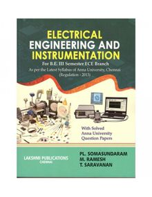 Electrical Engineering and Instrumentation | P L Somasundaram, M Ramesh, T Saravanan