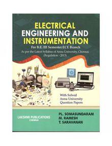 Electrical Engineering and Instrumentation | P L Somasundaram, M Ramesh, T Saravanan