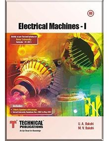 Electrical Machines 1 | M V Bakshi, U A Bakshi
