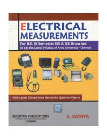 Electrical Measurements | S.Sathya