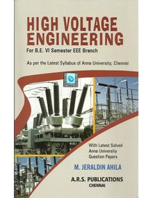 High Voltage Engineering | M.Jeraldin Ahila