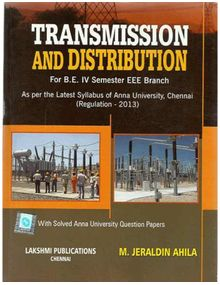 Transmission and Distribution | Jeraldin Ahila