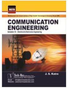 Communication Engineering | Katre J S