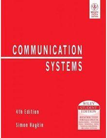 Communication Systems | Simon Haykin