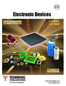 Electronic Devices | U A Bakshi, A P Godse