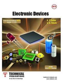 Electronic Devices | U A Bakshi, A P Godse
