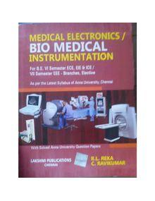 Biomedical Instrumentation (Medical Electronics) | R.L.Reka, C.Ravikumar