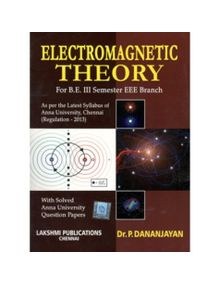 Electro Magnetic Theory | Dr.P.Danajayan