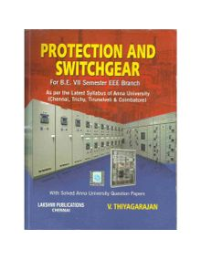 Protection And Switch Gear | V.Thiyagarajan