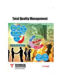 Total Quality Management | V.S.Bagad