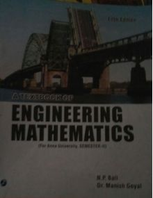 A Textbook of Engineering Mathematics - Sem II |  N.P. Bali , Dr. Manish Goyal