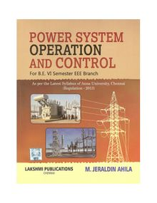 Power System Operation And Control | M Jeraldin Ahila