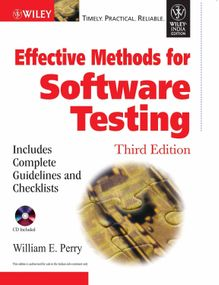 Effective Methods For Software Testing | William E. Perry