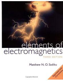 Elements of Electromagnetics |  Matthew N. O. Sadiku